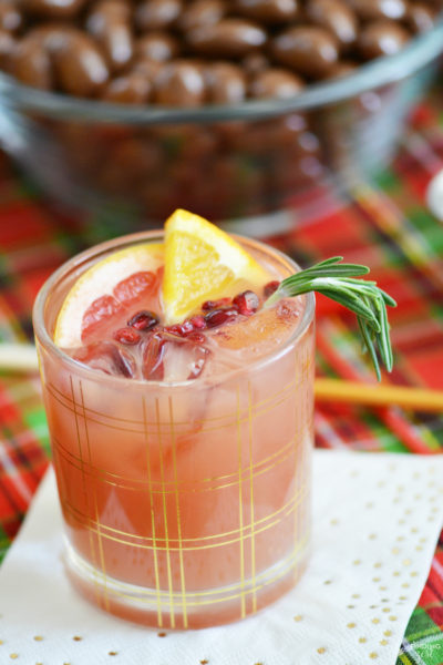Christmas Holiday Punch Recipe + Holiday Entertaining Ideas