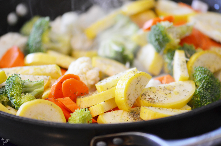 how to cook sauteed vegetables