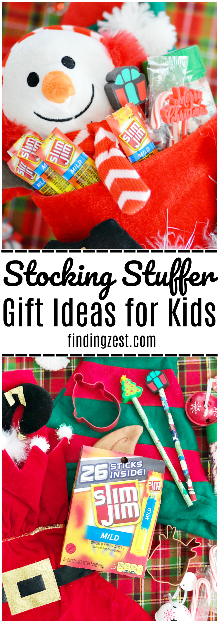 Don't get stumped this holiday season! Check out these easy stocking stuffer gift ideas for kids!