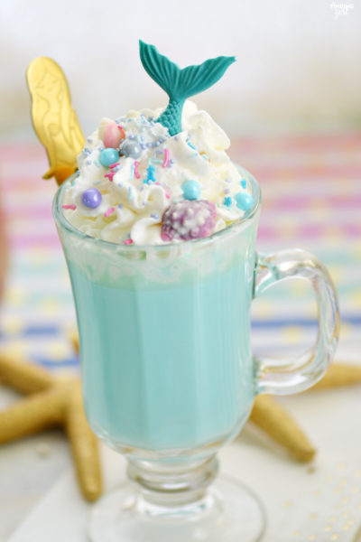 Blue Mermaid Hot Chocolate