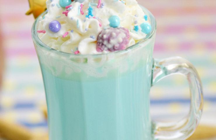 Blue Mermaid Hot Chocolate