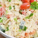 Creamy Bowtie Pasta Salad