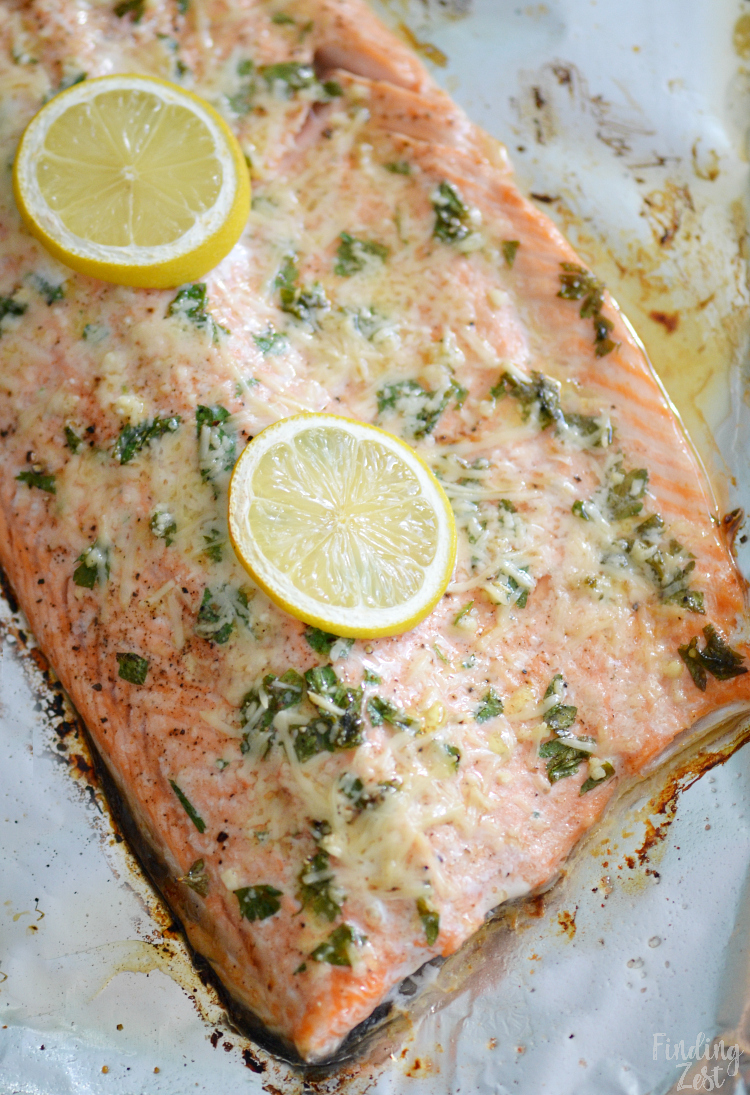Parmesan Baked Steelhead Trout Recipe Finding Zest