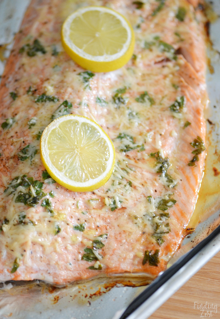 Parmesan Baked Steelhead Trout Recipe