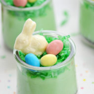 Pistachio Pudding Dessert Parfaits for Easter