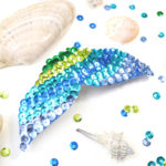Mermaid Fin Hair Clip Craft