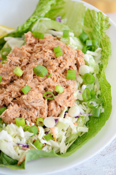 Easy Buffalo Lettuce Wraps