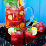 Sparkling Pimm's Cup Punch Recipe