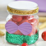 Little Mermaid Party Favors: DIY Glitter Jar
