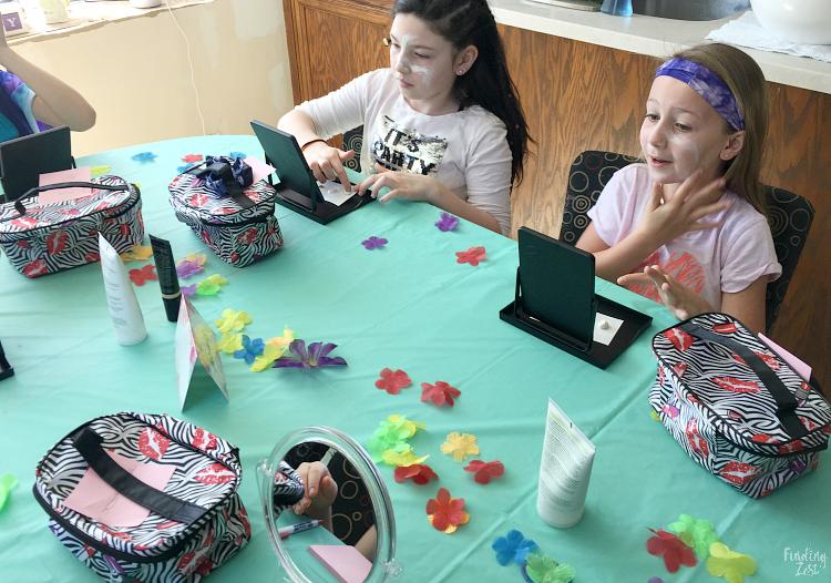 Girls Spa Party: Bath Salt Party Favors - Finding Zest