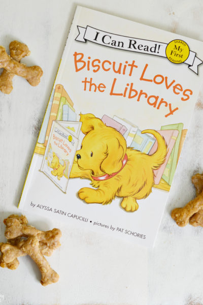 Dog Biscuit Recipe Inspired by Biscuit the Dog + Giveaway