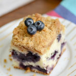 Blueberry Buckle Recipe with Streusel Topping
