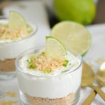 No Bake Key Lime Cheesecake Cups