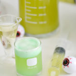 Mad Scientist Green Punch Recipe and Fun Experiment