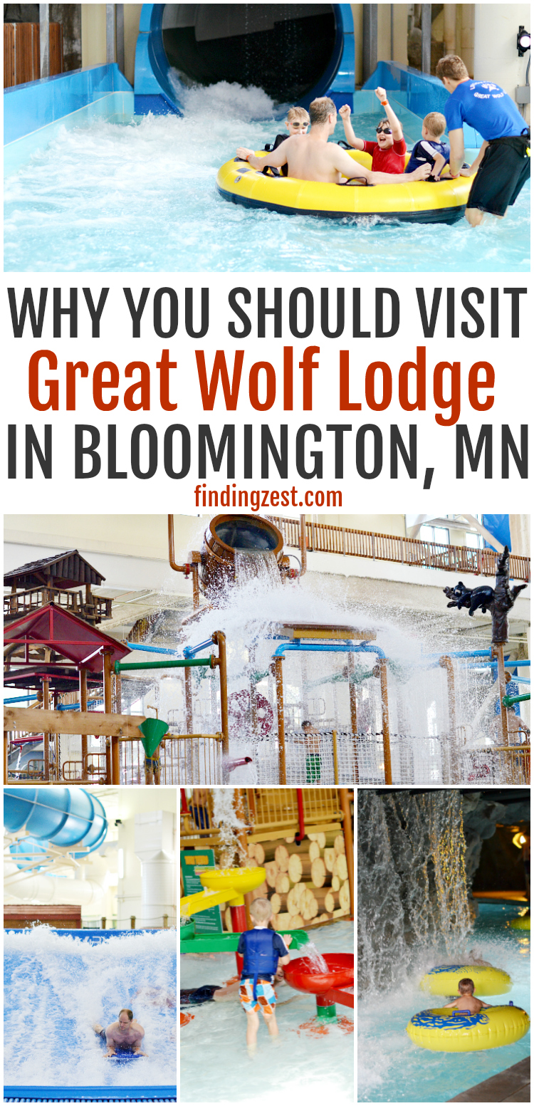 Get a closer look at our mini vacation to Great Wolf Lodge MN in Bloomington, Minnesota. Check out the amenities available at this water park, including lodging, food, shopping and activities! Is the Wolf pass worth it? What is there to do besides the water park? #GreatWolfLodge #GreatWolfMinnesota