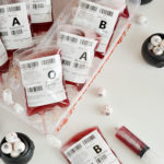 Blood Bags Halloween Drink (Non-Alcoholic) + EASY Fake Blood Splatters