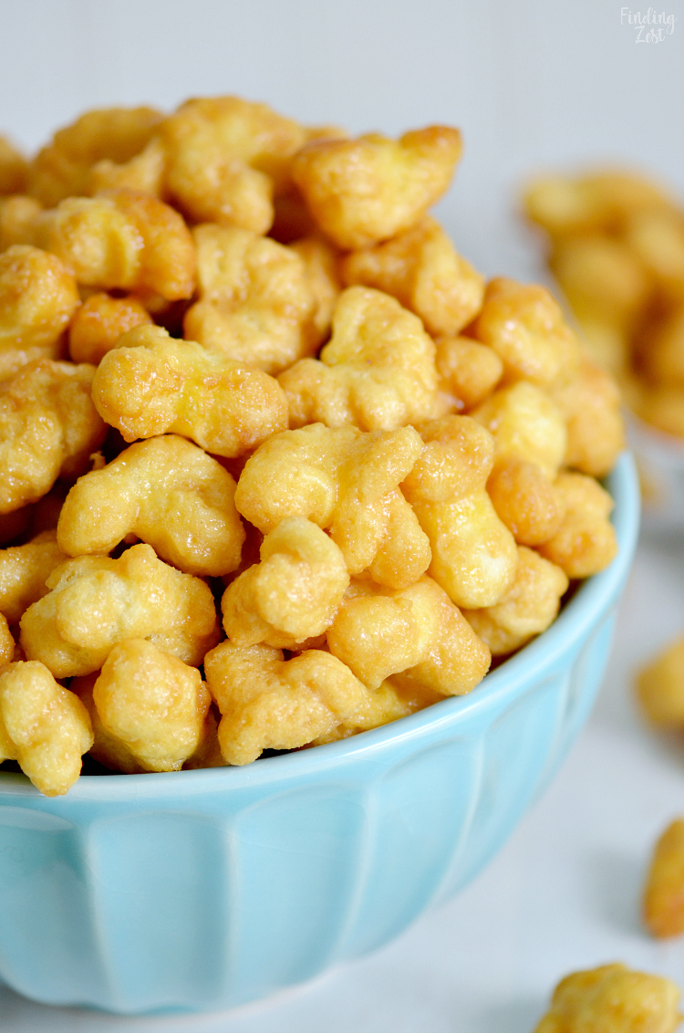 Caramel Puff Corn Without Nuts Finding Zest