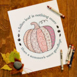Pumpkin Coloring Page Printable