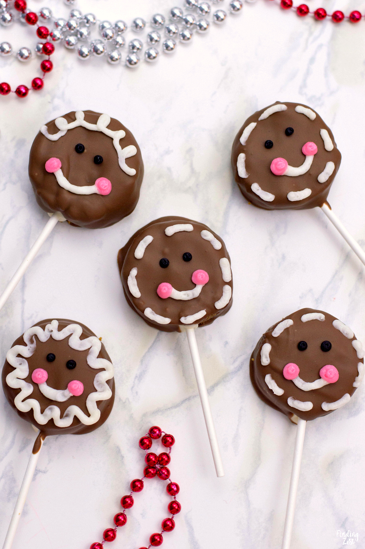 How to Make Gingerbread Cake Pops