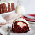 Red Velvet Bundt Cake with Cream Cheese Filling