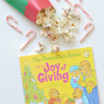 White Chocolate Peppermint Popcorn: Joy of Giving
