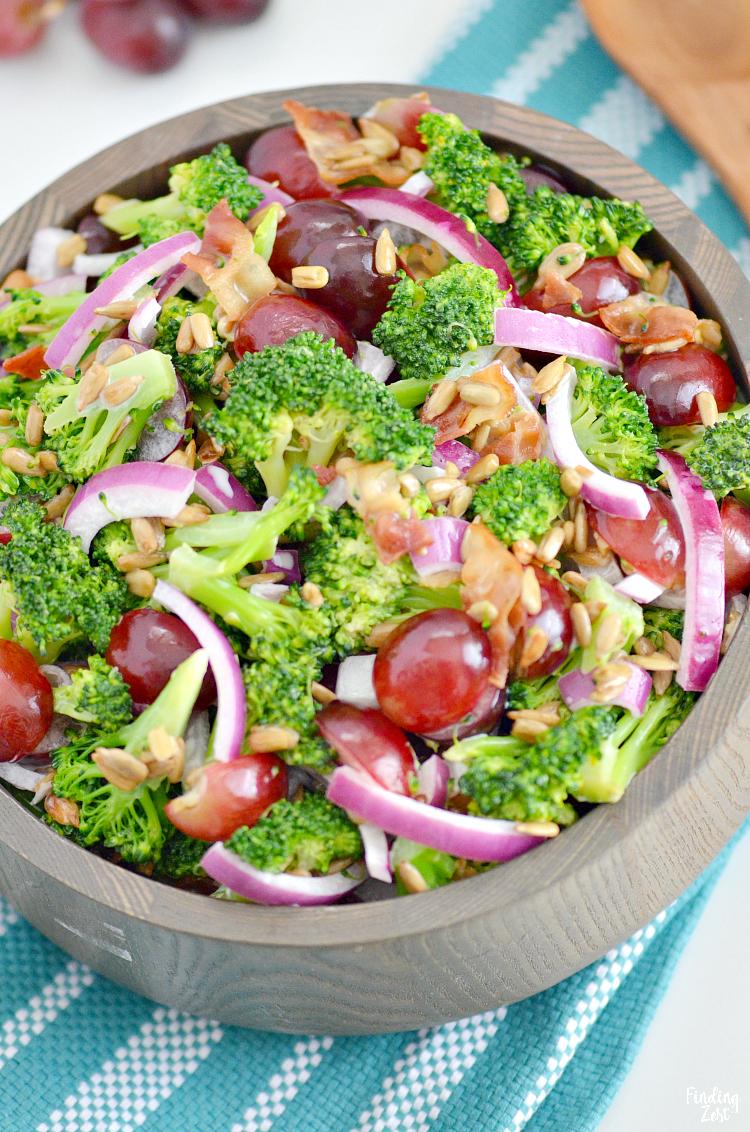 Broccoli Salad Recipe With Bacon