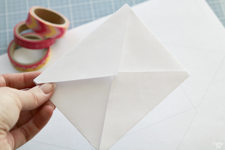 homemade printable envelope