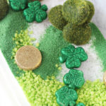 Sensory Bin Ideas: Leprechaun Garden for St. Patrick's Day