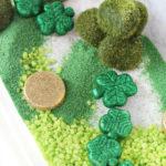Sensory Bin Ideas: Leprechaun Garden for St. Patrick's Day