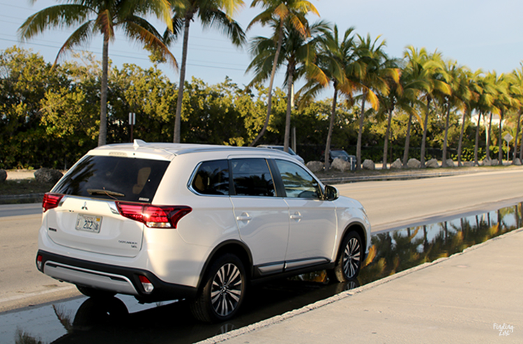 2019 Mitsubishi Outlander SEL at Smathers Beach Key West Florida
