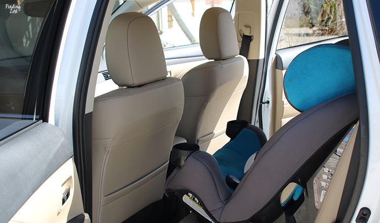 Carseat in 2019 Mitsubishi Outlander SEL