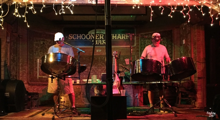 Island Time Band at Schooer Wharf Bar in Key West Florida