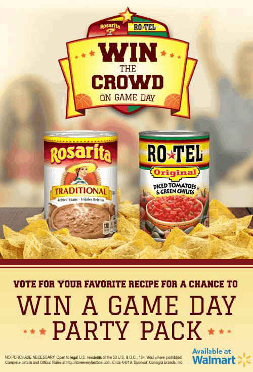 Rotel and Rosarita Win the Crowd on Game Day