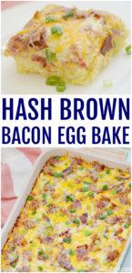 Hash Brown Bacon Egg Bake Recipe