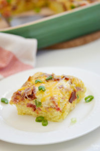 Hash Brown Egg Bake for Brunch