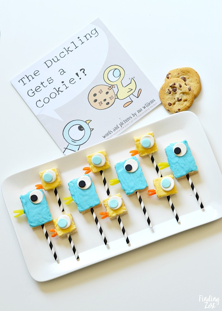 Mo Willems Pigeon Birthday Treats with Duckling