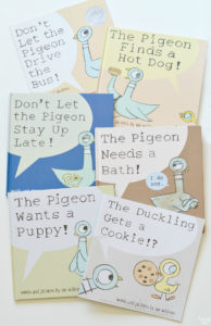 Mo Willems Pigeon Book Series