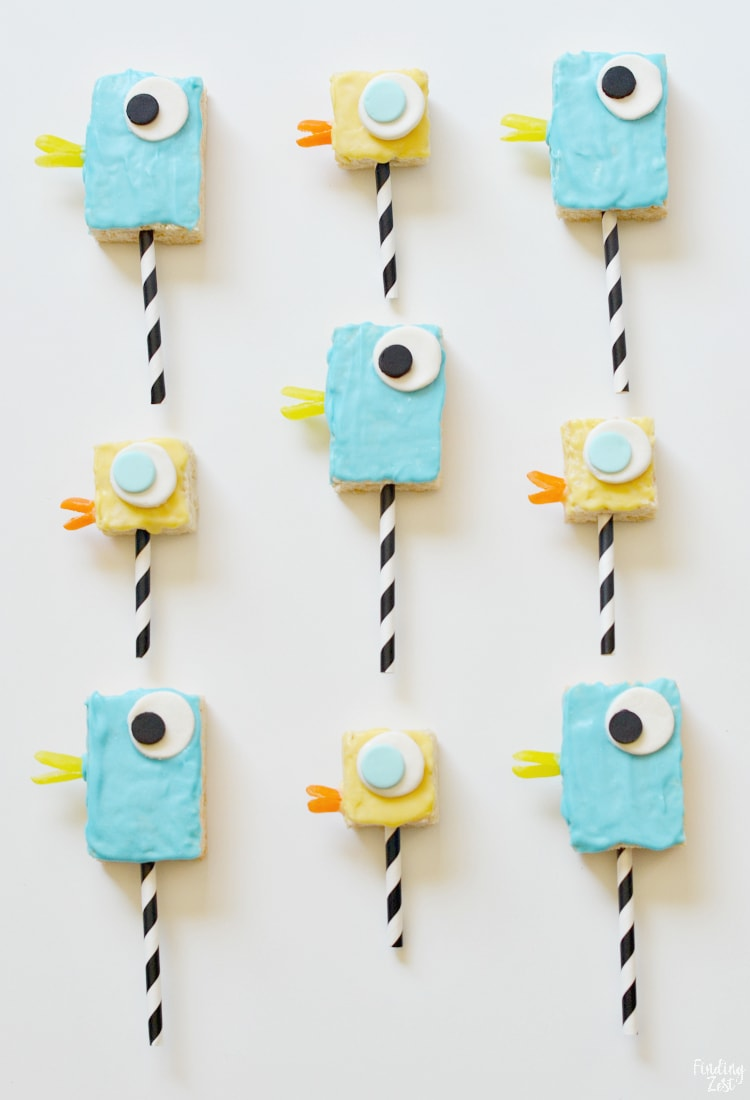 Pigeon Duckling Cereal Treats