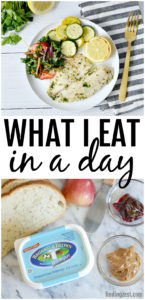 What I eat in a day for breakfast, lunch and dinner