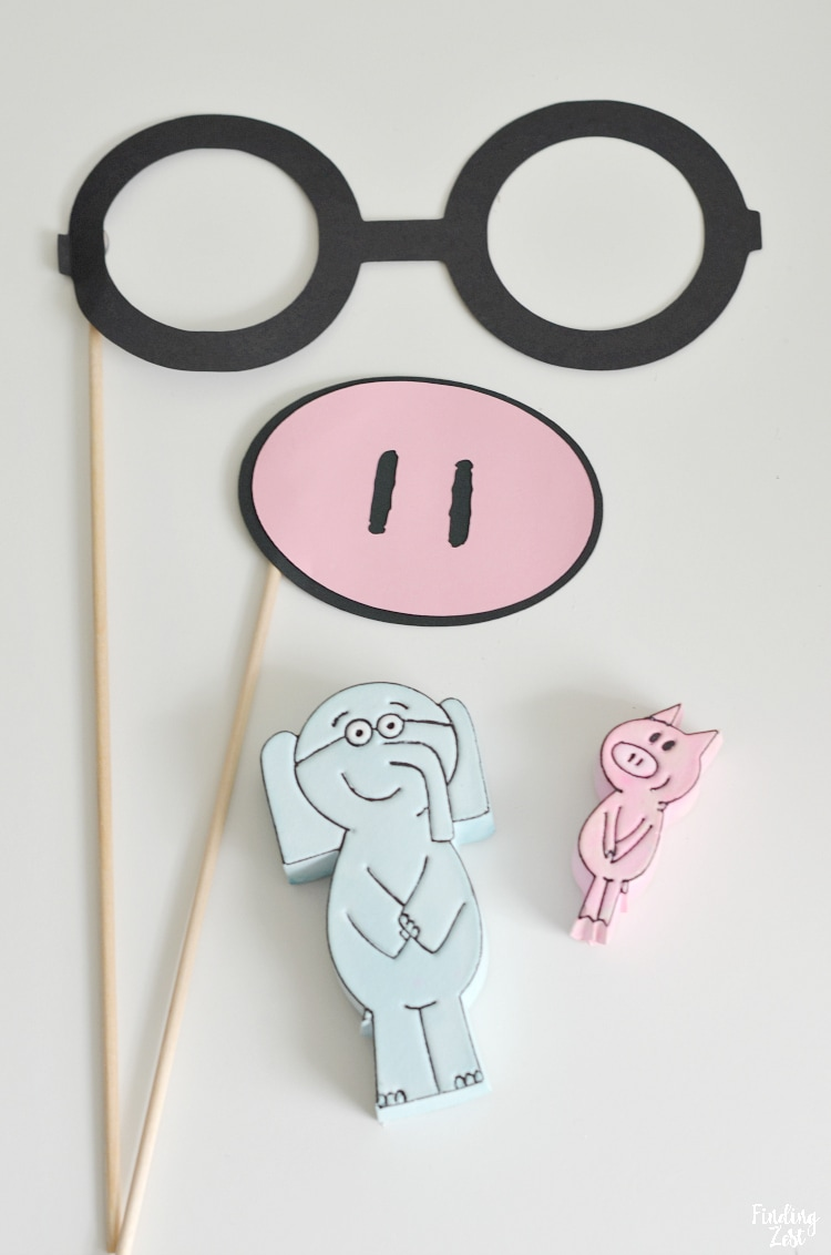 Elephant and Piggie Props Mo Willems