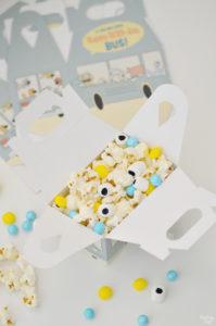 Mo Willems The Pigeon Snack Mix in favor boxes