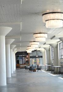 Courtyard by Marriott in Waterloo Iowa Inside Hallway by Lobby