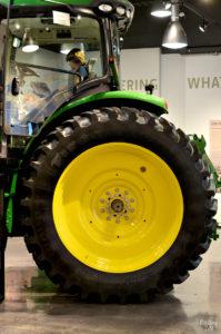 Huge tractor at John Deere Museum in Waterloo Iowa
