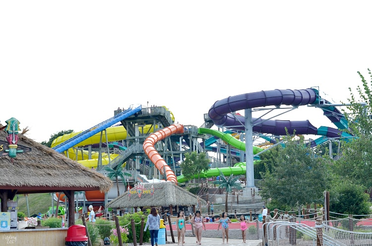 Lost Island Waterpark in Waterloo Iowa