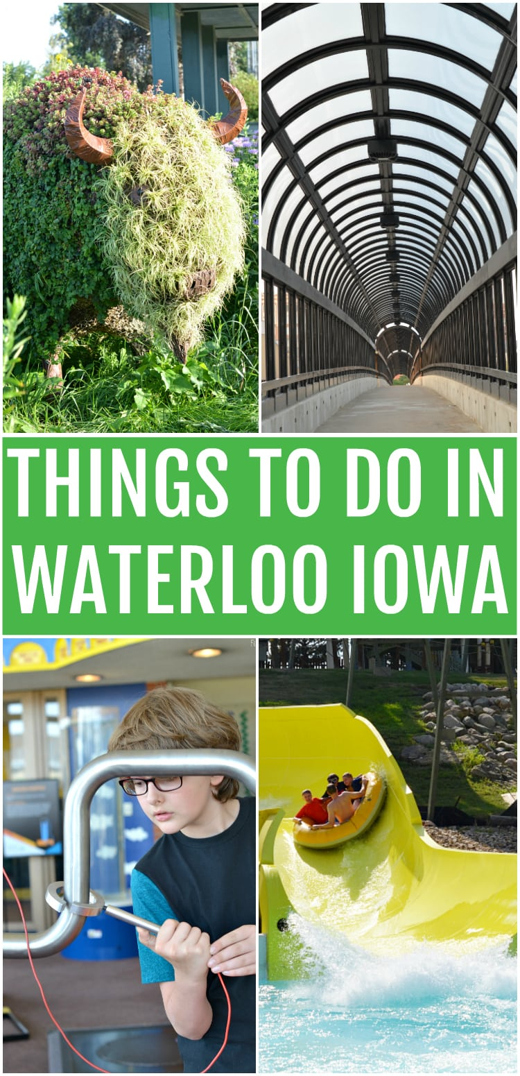 Looking for things to do in Waterloo Iowa? Check out these fun activities that make Waterloo an awesome family getaway destination!