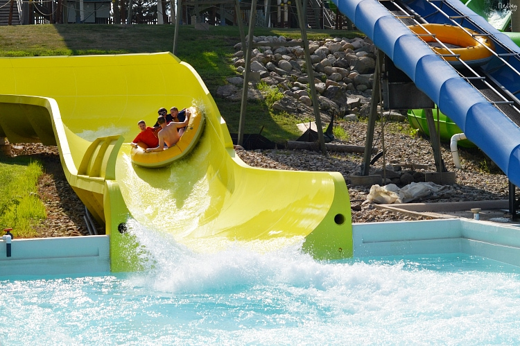 Calypso Cascade Water Slide at Lost Island