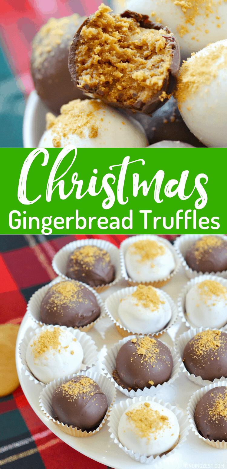 Chocolate Gingerbread Truffles are an easy to transport Christmas dessert that is hard to resist. These no-bake cookie treats are easy to make and a great way to add something new to your cookie trays this holiday season! You won't be sorry you tried this recipe!
