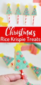 Looking for ways to make your holiday treat table sparkle? Try these Christmas Tree Rice Krispie Treats. Skip the baking and concentrate on the decorating with this fun holiday food art activity featuring Sour Power Candy!
