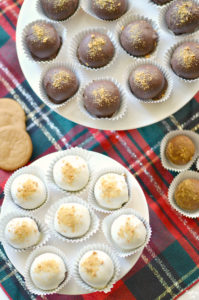 Chocolate Gingerbread Truffles are the perfect no-bake holiday dessert! Round out your holiday cookie tray with these delectable candies. Only five ingredients are required to make this simple but amazing chocolate truffle!