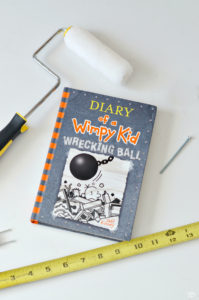 Home Improvement is the subject of Diary of a Wimpy Kid Wrecking Ball by Jeff Kinney